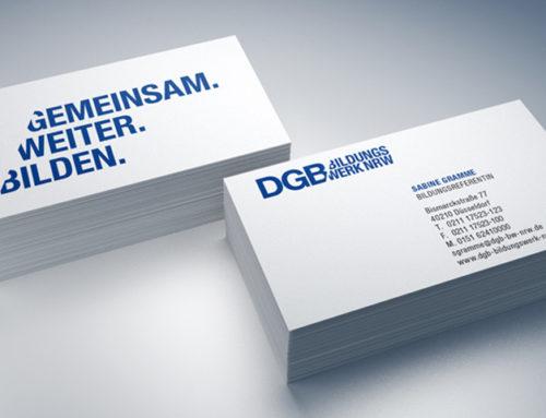 DGB-Bildungswerk NRWGeschäftspapiere