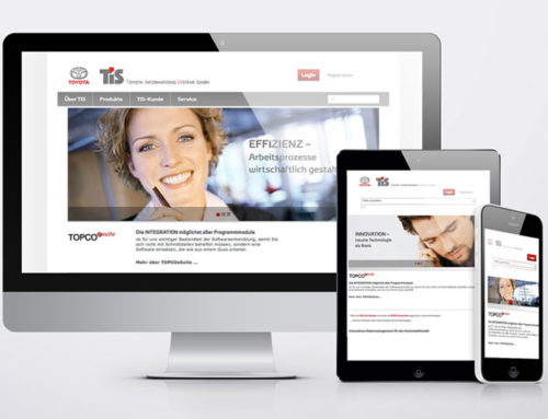 TIS Informations-SystemeWebsite Relaunch
