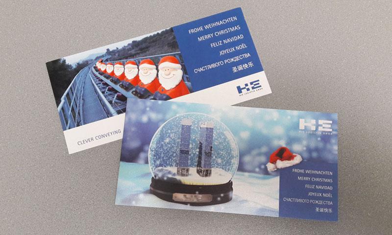 Werbemittel Weihnachtskarten