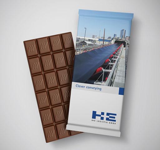 Werbemittel Schokolade